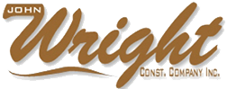 JOHN WRIGHT Construction Co, Logo